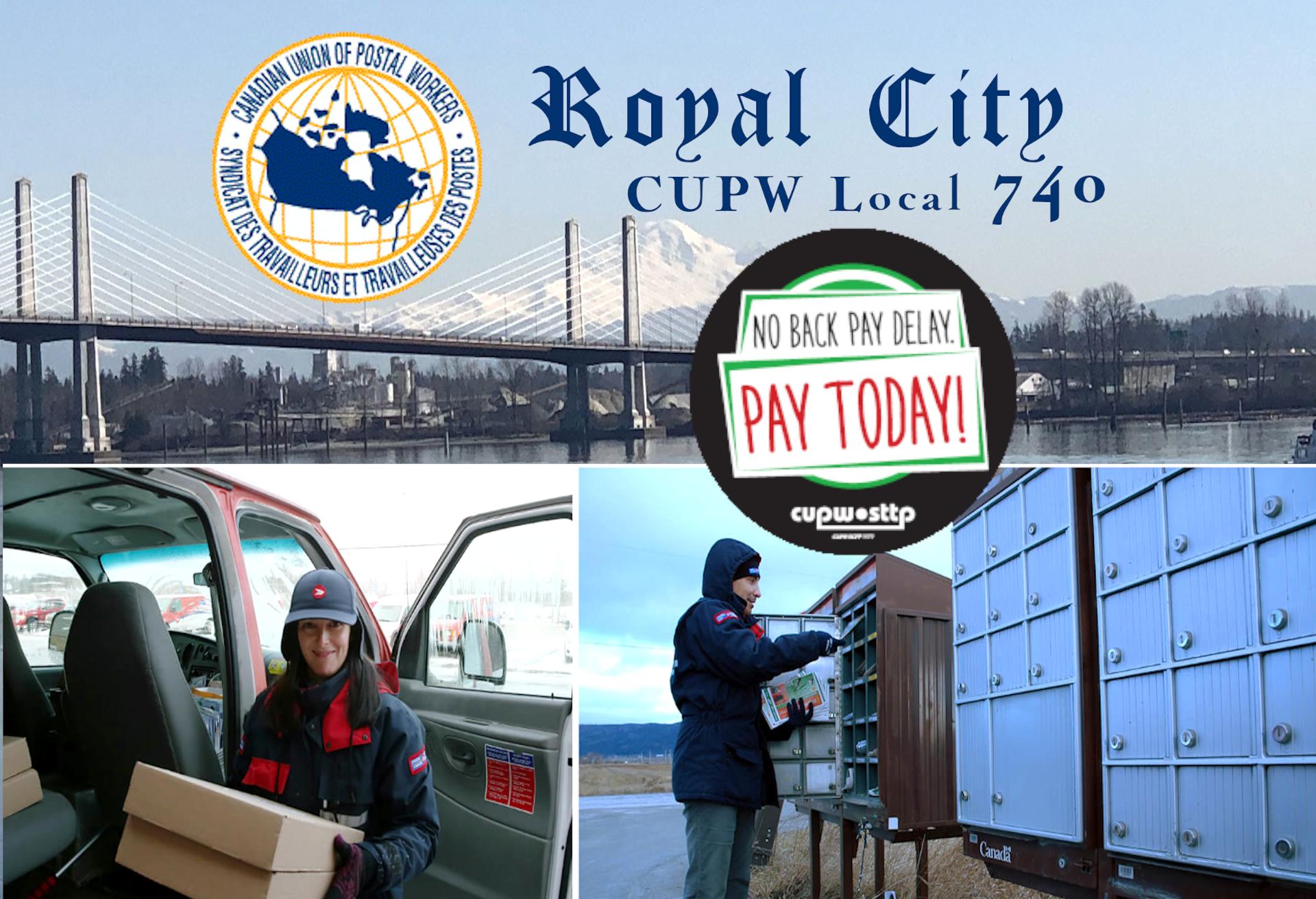 CUPW RoyalCity 740 Logo